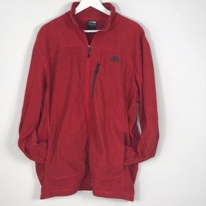 The North Face Sweater XL/TG zip up 3 pocket